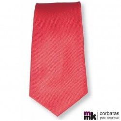 Corbata Roja Poliéster Eight